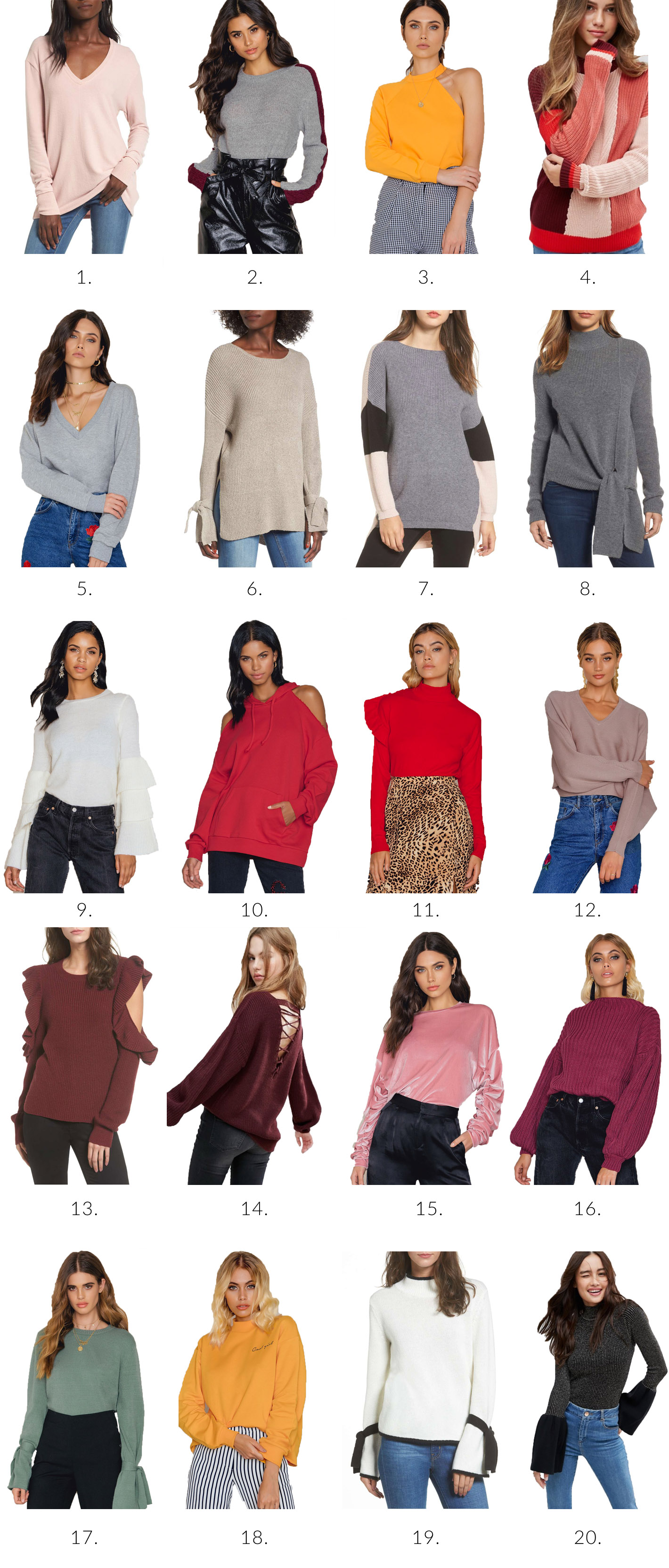 20 Sweaters Under 50