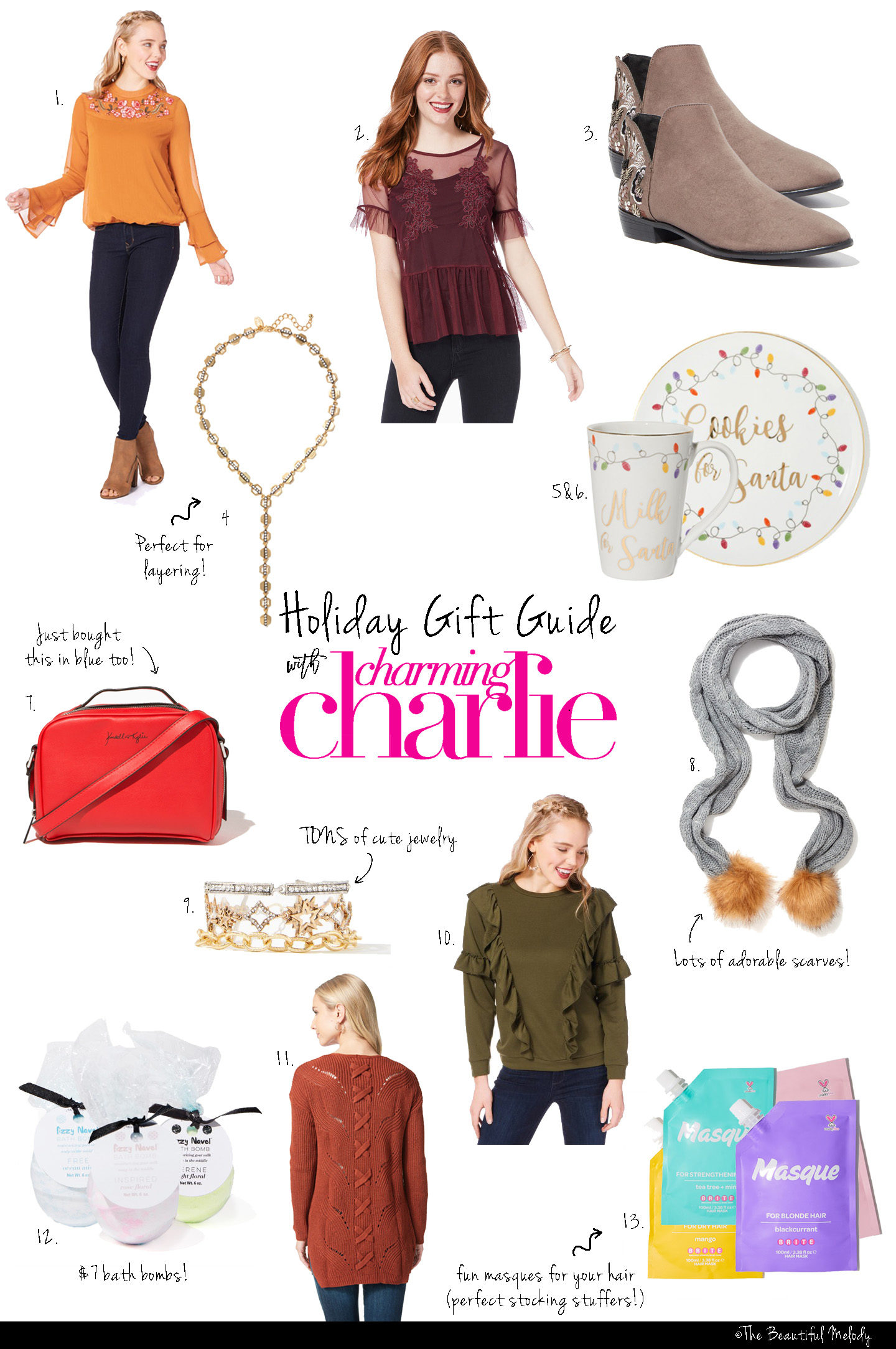 Gift Guide with Charming Charlie